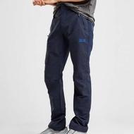 德國飛狼 Jack Wolfskin Activate Flexshield Pants 深藍混雙材質防潑水軟殼褲