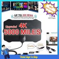 PHONE_Mini Shield Shape HDTV天線4K HD室內數字電視天線信號放大器