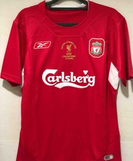 Retro 2005 Liverpool Home Football Jersey