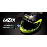 LAZER MONACO EVO S 智慧型 📣 碳纖維全罩可掀式安全帽 / 可樂帽 ▧