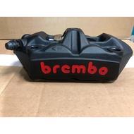 Brembo HPK M4/1098 輻射卡鉗 活塞34/34 孔距100mm 黑底紅字