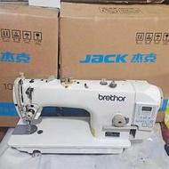 二手縫紉機家用杰克電腦平車一體機工業用全自動自動剪線薄厚通吃