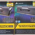 Corsair Vengeance RGB DDR4 4 x 8GB 32GB Kit 高速 3466MHz