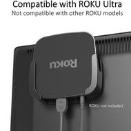 ReliaMount Roku Ultra Mount ที่แขวนกล่อง Roku รุ่น Ultra กับทีวี ใช้ได้กับ Roku Ultra เท่า่นั้น - USA Imported - 100% Authentic - Perfect for wall-mounted TVs - Eliminates the need to tunnel an HDMI cable through your wall.- Roku NOT INCLUDED