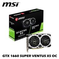 MSI 微星 GTX 1660 SUPER VENTUS XS OC 6G PCI-E 顯示卡 雙風扇 HDMI DP