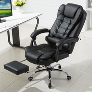 Boss Chair Massage Comfort Reclining with Footrest Leather Office Chair Boss Computer Chair Executive Office