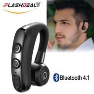 iFlashDeal ชุดหูฟังสอดหูบลูทูธไร้สาย CSR กันเหงื่อ น้ำหนักเบา ตัดเสียงรบกวน มีแฮนด์ฟรีพร้อมไมโครโฟนสำหรับ และมือถือในระบบ หูฟังบลูทูธไร้สาย หูฟังmini หูฟังบลูทูธ ใช้ได้กับโทรศัพท์ทุกรุ่น Wireless Earbuds Bluetooth Headset Earphones