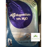 (+-25KG) AG Agrotech MgO 16% Magnesium Sulfate Epsom salt