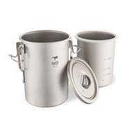 【Keith純鈦】Ti6300戶外輕量多功能煮飯器(900ml)《屋外生活》戶外煮飯器