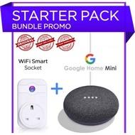 2nd generation Google Nest Mini free 1 WiFi socket (1 Year warranty)