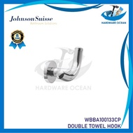 Johnson Suisse Commercial Double Robe Hook  Bathroom  Accessories