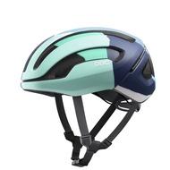 POC Omne Air Spin 安全帽 Color Splashes/Multi Basalt Blue Matt