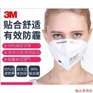 3M口罩防塵防霧霾9501v折疊9502v頭戴式N95防工業粉塵透氣防PM2.5-逸志