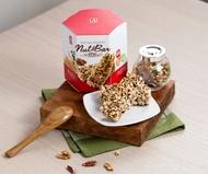 Sung-chi Multigrain Natural Roasted Nut Bar 5 bars / Box Taiwan Healthy Snack Bar