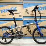 《免費送貨+送頭盔》TRINX FLYBIRD 3.0(20) - 18速 油壓碟剎 22吋(451) 摺疊單車*...
