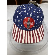Coca Cola Hat cap America NOS vintage USA