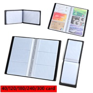 FKJQ79526 Wallet Collection Credit Card Paper Craft Cards Album Book Case Card Holder Books Leather
