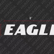 For (2Pcs) EAGLE TIRE BRAND GOODYEAR sticker vinyl decal