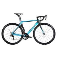 Twitter T10 Upgraded 18k Carbon Fiber Road Bike R7000 22 Speed C Shape Rim Brake 700C Men and Women Professional Bicycle