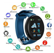 Aweven Smart Watch D18 พร้อมBluetooth 2020 สำหรับผู้ชาย,Round Smart Watch,นาฬิกาสปอร์ตกันน้ำ,WhatsAppสำหรับAndroid Ios