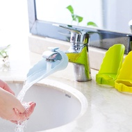 現貨◎ 簡約素色洗手神器 水龍頭加長洗手器 導水槽延伸器 兒童寶寶洗手輔助延長器