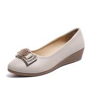 รองเท้าคัชชู รองเท้าส้นเตี้ย รองเท้าส้นแบน รองเท้าผู้หญิง รองเท้าทำงาน รองเท้าบัลเล่ต์