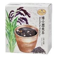【曼寧】台灣博士黑米茶包7gx15入輕巧盒(台灣黑米、南非國寶茶、穀麥茶)