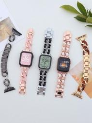 สำหรับ AppleSEนาฬิกาapplewatchสายรัดiwatch5/6รุ่นsingle-Linkผ้ายีนส์ห่วงโซ่4ลมหอมเล็ก3โลหะ2สาวหนังสือสีแดง44mm40ฤดูร้อน42ของใหม่38สร้างสรรค์เล็กๆน้อยๆน้ำ