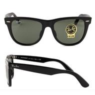 RAY BAN 雷朋 亞洲版高鼻翼 經典太陽眼鏡 RB2140-F 901-S 54mm 黑框