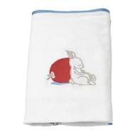 IKEA VÄDRA 嬰兒護墊布套, 兔子/白色