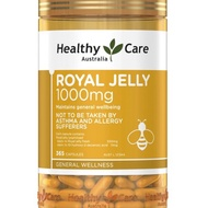 澳洲 Healthy Care Royal Jelly 蜂王乳膠囊365顆