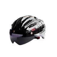GVR G203V Jump跳躍系列-追風II安全帽(亮黑)附專利磁吸式可翻轉擋風鏡片[35407196]