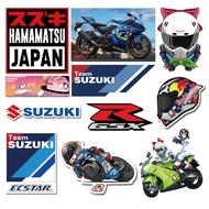 Suzuki Motorcycle Stickers Motorcycle Decorative Reflective Stickers