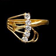 Young Gold Adult Eye Ring + - 1 Gram