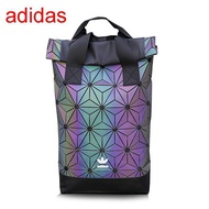 Adidas_3D diamond backpack men and women computer backpack colorful fashion casual backpack