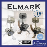 Elmark Air Craft 18 Inch Ceiling Fan with Remote Control