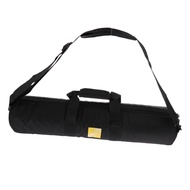 "Miracle Shining Nylon Tripod Bag Carrying Case Foam Padded for Tripods up to 23"", Black"