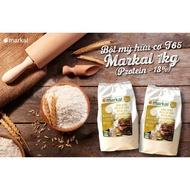 T65 Bread Flour Markal Organic Wheat Flour 1kg (Protein> 13%)