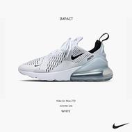 Nike Air Max 270 White 白 黑 慢跑鞋 編織 氣墊 避震 輕量 AH6789-100 IMPACT