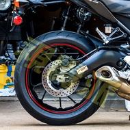 【視覺派】CBR R3 忍400 小阿魯 R15 反光 輪框貼 GSX R150 S150 FZS 150 輪圈貼 貼紙
