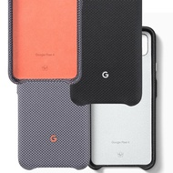 「原廠公司貨」Google 谷歌 Pixel 4 織布手機保護殼—純粹黑、有點灰
