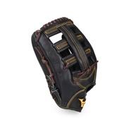 MIZUNO 硬式棒球手套投手/外野手用 黑黃