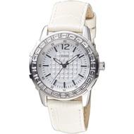 GUESS手錶 GWW0019L1 典雅麗緻時尚晶鑽仕女錶-銀白