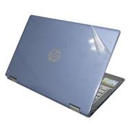 【Ezstick】HP X360 14-dh0000TX 二代透氣機身保護貼(含上蓋貼、鍵盤週圍貼、底部貼)