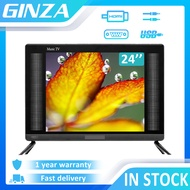 ( TV Stand ) GINZA 24 inch LED TV Flat Screen On Sale Led TV Not Smart TV Flat Screen TV Portable TV ace TV ( Screen size 19 inch)