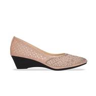 D'ARTE (ดาร์เต้) รองเท้าคัชชู หัวแหลม ส้นเตารีด รองเท้าออกงาน รองเท้าผู้หญิง รุ่น D65-20405