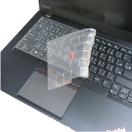 【Ezstick】Lenovo T460S 無指紋機 系列 專利透氣奈米銀抗菌TPU 鍵盤保護膜 鍵盤膜