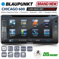 BLAUPUNKT CHICAGO 600 200mm Toyota Double DIN CD Sat Nav Car DVD Player Headunit