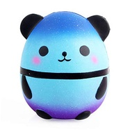 Anti-Stress Squishy Simulation Starry Panda Slow Rebound Infant Squeeze Toys