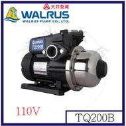 『青山六金』附發票 大井泵浦 TQ200B 第二代 電子穩壓加壓機 110V 抽水機 噴水機 送水機 打水機